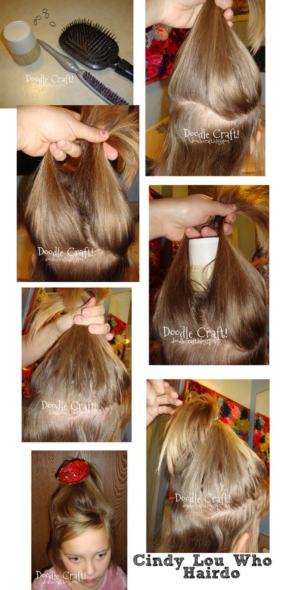 Doodlecraft: Search results for Cindy lou who hair