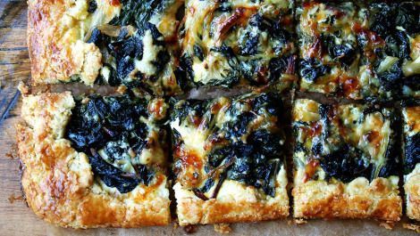 What to do with an abundance of chard- this galette looks delish!