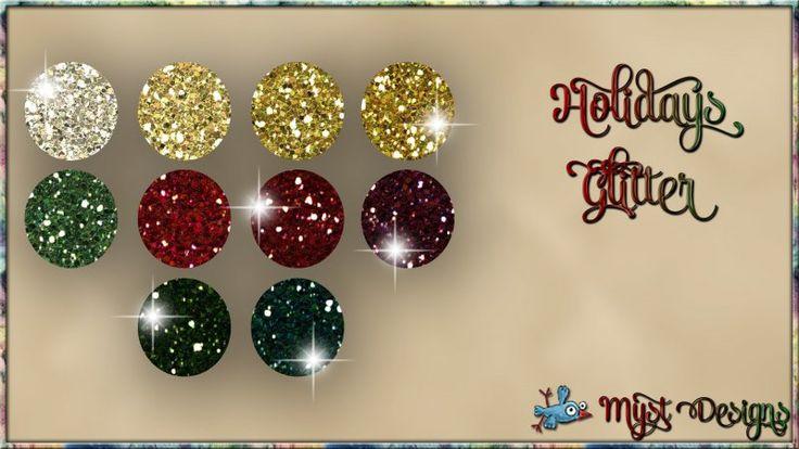Holidays Glitter