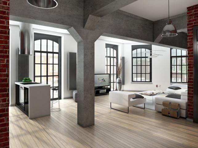 modern industrial interior design - Google Search