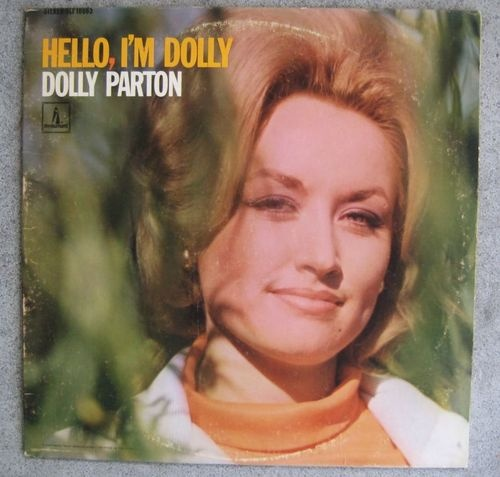 Dolly Parton Album LP Hello I'M Dolly