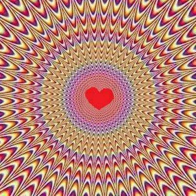 "{{{{{{{{{ ""Love the Vibrations"" }}}}}}}}}}-Great Optical Illusion"