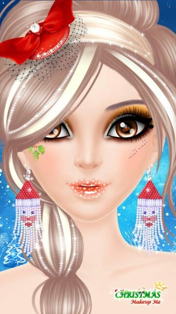 Libii game make up me Xmas