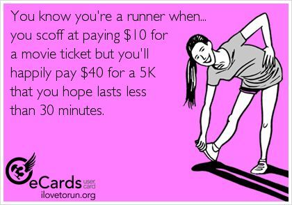 10 eBibs Only Runners Could Understand - Competitor Running | running humor | race entry fees
