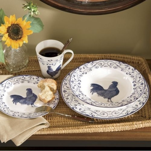 Best 10+ Rooster Plates Ideas On Pinterest