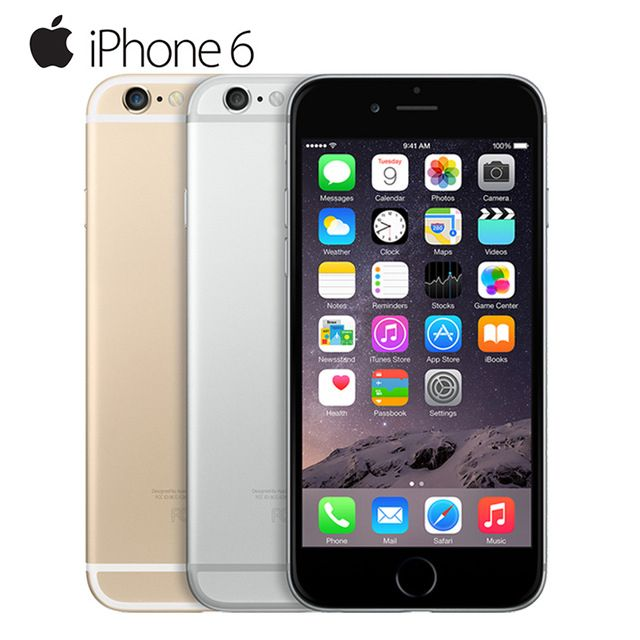 Mobile Phones Original Apple iPhone 6 Dual Core IOS Mobile Phone 4.7' IPS 1GB RAM 16/64/128GB ROM 4G LTE Unlocked Used Cell Phone * This is an AliExpress affiliate pin.  Locate the offer on AliExpress website simply by clicking the VISIT button