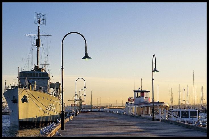 Gem Pier at Williamstown, Melbourne Australia