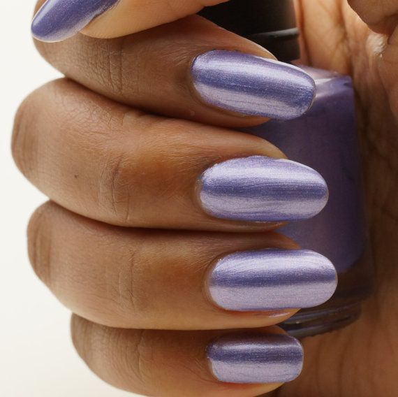 Periwinkle Nail Polish 15 ml by CanvasNails on Etsy, $8.00