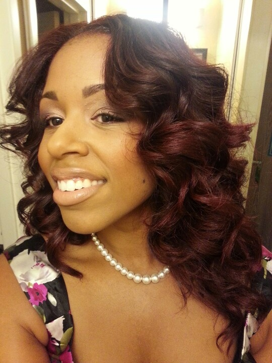 Flat Iron Spirals Hairstyles By Monica Curly Hair