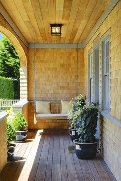 11 Ways To Get More From Your Summer Porch - Hang a porch swing. Just looking at a porch swing invites relaxation. And swinging on one while daydreaming on a summer afternoon is even better. Be sure to get help safely hanging your swing so it has the proper support.