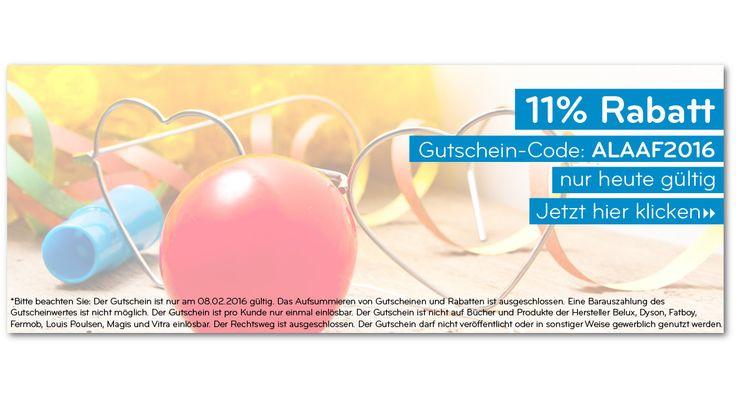 #Tipp des Tages - Der 11% RABATT #Karneval #Gutschein von connox  Hier entlang -> https://www.connox.de/?Action=AddVoucher&Code=ALAAF2016
