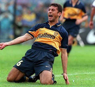 Walter Samuel (Boca Juniors, 1997–2000, 77 apps, 4 goals)