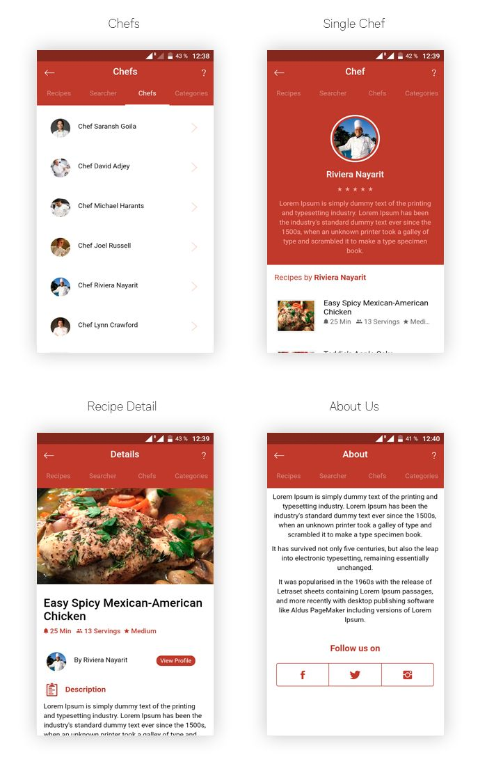 A feature rich Android recipe app template for food lovers, chefs and cooking experts. Soillona app template makes it easier than ever to create and manage your own recipes through the easy to use ...
