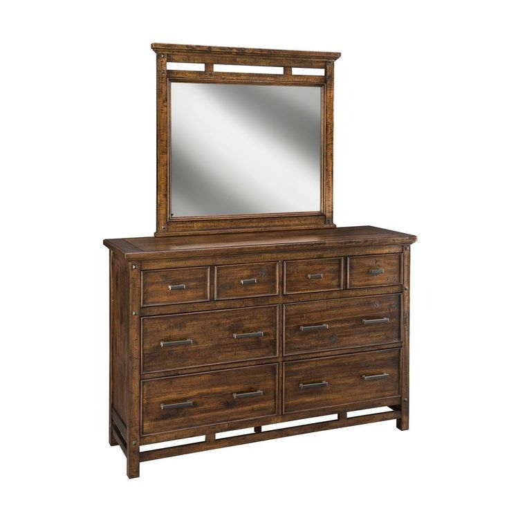 Intercon Wolf Creek Rustic Vintage Dresser