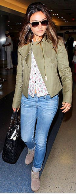 Purse - Christian Dior Jeans - AG Adriano Goldschmied Jacket - Ann Taylor Similar style jeans by the same designer AG Adriano Goldschmied Women's Stilt Cigarette Leg Jean