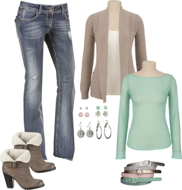 """""""Mint Cocoa"""" by sarah-noonan-dlugosh on Polyvore"""