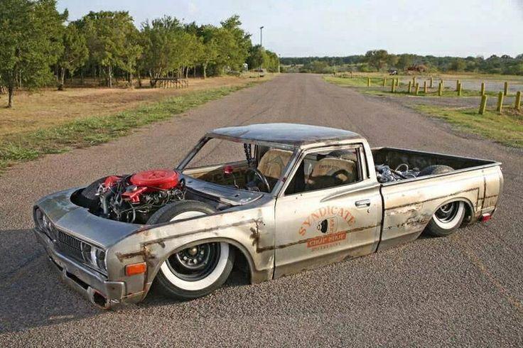 Slammed And Chopped Datsun 620 Datsun 620 Ideas