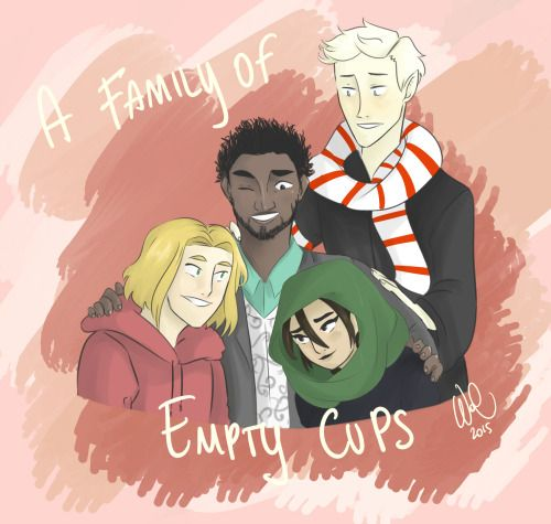 Family of Empty Cups