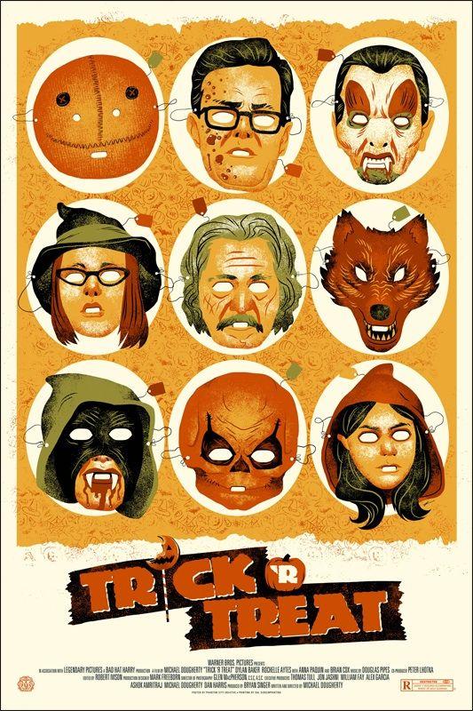 Trick-R-Treat - Mondo Poster