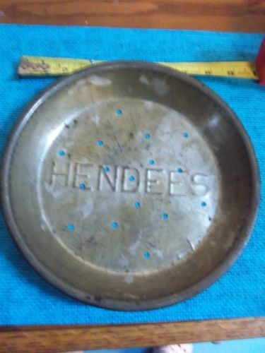 VINTAGE-HENDEES-METAL-BAKING-PIE-TIN-PAN-ADVERTISING- & 20 best vintage tin pie plates images on Pinterest | Vintage tins ...