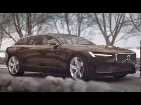 Volvo Concept Estate with much inspiration and design language from the legendary Volvo P1800