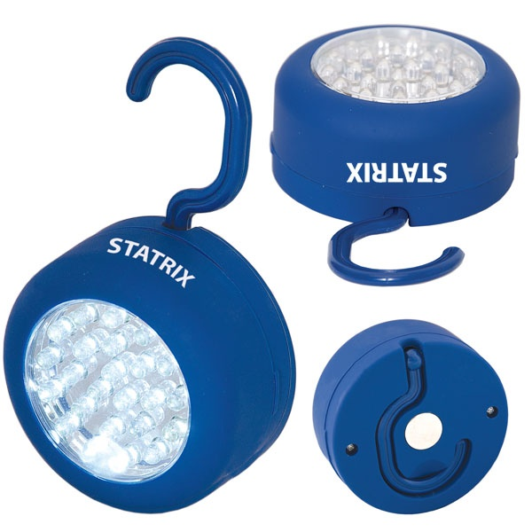 FL6359 - 24 LED HANDS-FREE LIGHT    Easily hangs where and when you need some extra light, or it can attach magnetically.