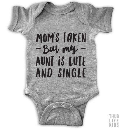 Aunt Is Single Onesie