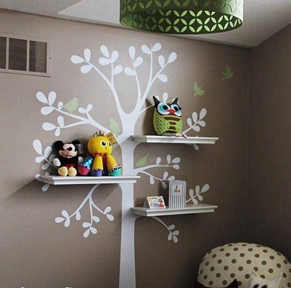 linda pintura para el cuarto de los niños