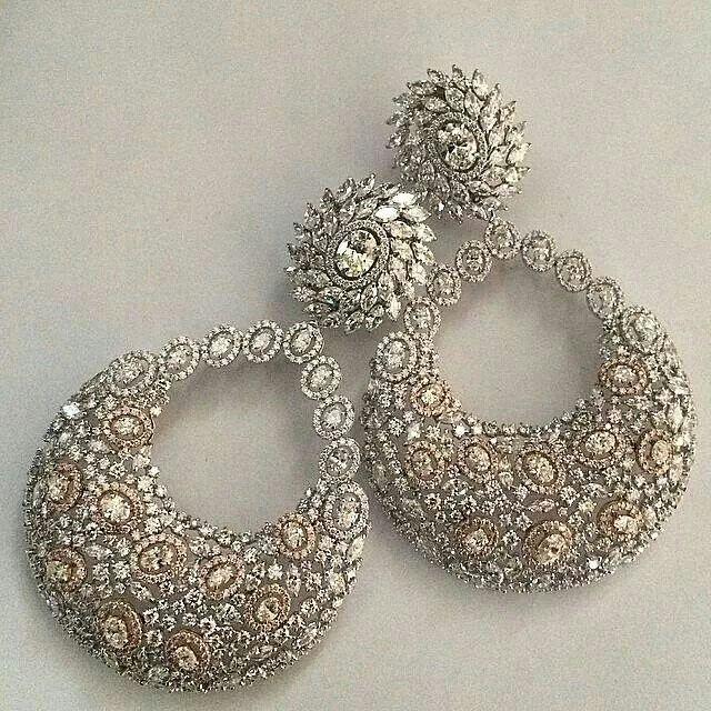 repost from @kamyenjewellery Chandelier Earrings