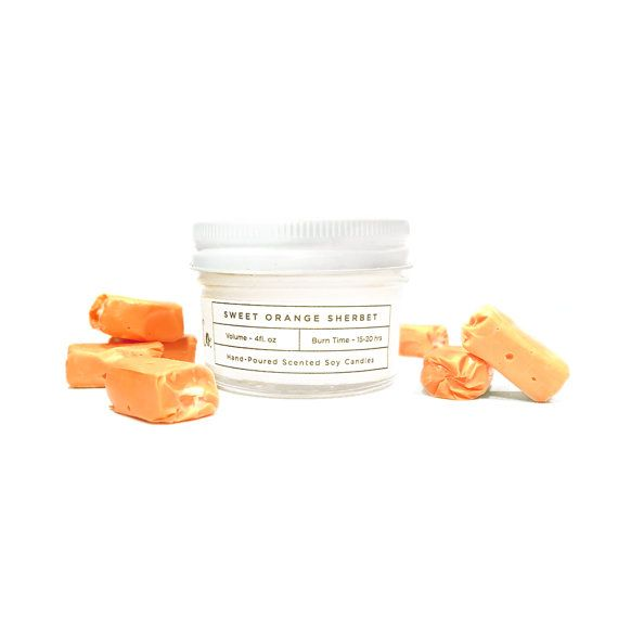Soy Candle Sweet Orange Sherbet 4oz