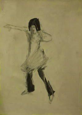 "Saatchi Art Artist Marta Zamarska; Drawing, ""Modern Dance XXVI"" #art"