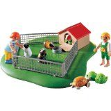 Playmobil City Life Modern Living Pet Pen The children can feed the guinea pigs and turtle (Barcode EAN = 4008789032102). (Barcode EAN = 0810973025708). http://www.comparestoreprices.co.uk/educational-toys/playmobil-city-life-modern-living-pet-pen.asp