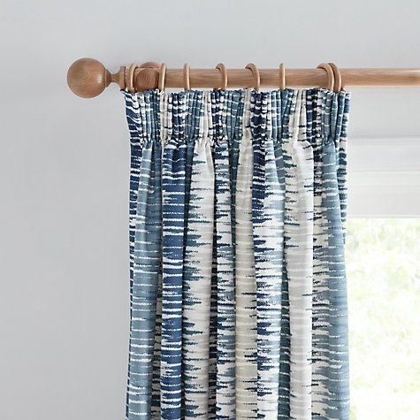 Buy John Lewis Ikat Lined Pencil Pleat Curtains Online at johnlewis.com