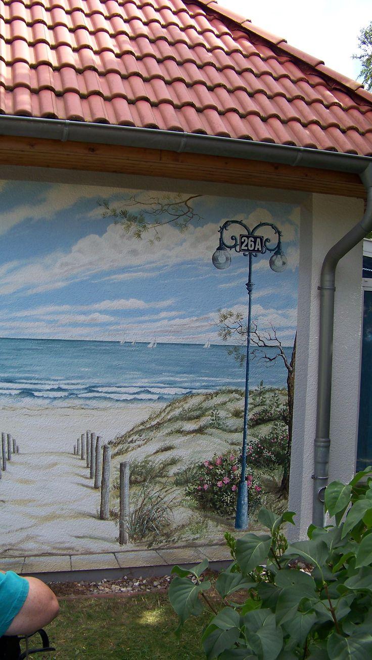 129 best trompe l oeil images on pinterest wall murals mural fassade sea muralswall