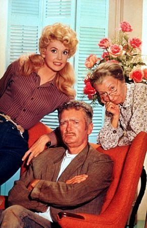 """Beverly Hillbillies, The"" Donna Douglas, Buddy Ebsen, Irene Ryan 1964"