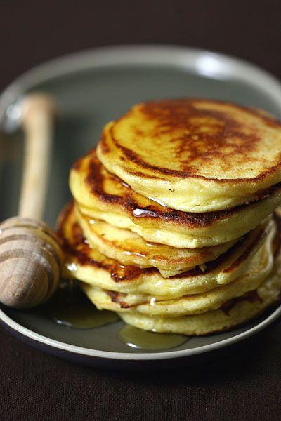 pancake di ricotta e limone .... gnam!! :)