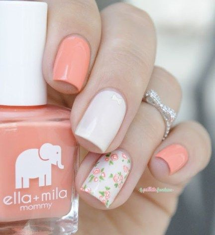20 Stunning Nail Art Themes Colors for Brides 2016 | Fashionte