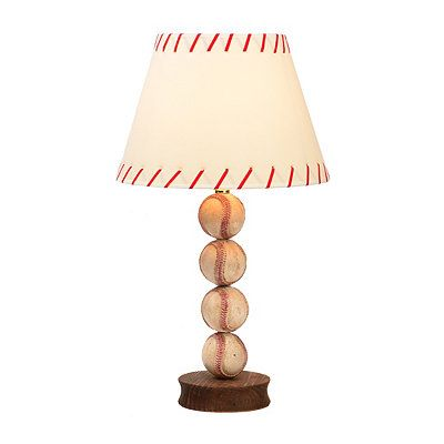 Stacked Baseball Table Lamp | Kirklands