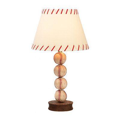 Stacked Baseball Table Lamp | Kirklands