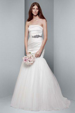 Trumplet wedding Gown White by Vera Wang Wedding Gowns | itakeyou.co.uk