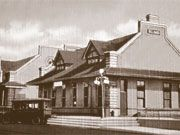 Historic Billings Depot-built in 1909 to be used by three railroad companies #history