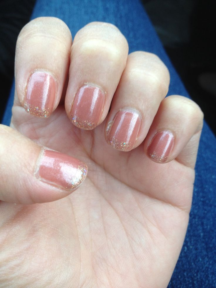 Butter London Aston with tart with a heart French tip nail art