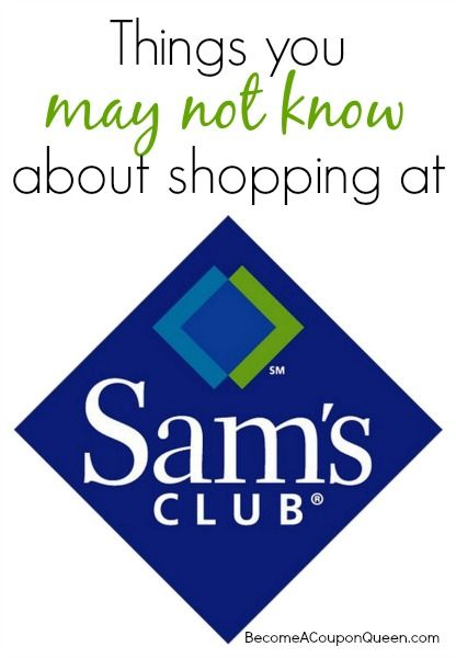 Considering a Sam's Club Membership or already have one? Here are some things you may not know about shopping at Sam's Club on BecomeaCouponQueen.com!