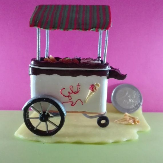 Personalized gift for ice-cream parlor di WizzyArtCreation