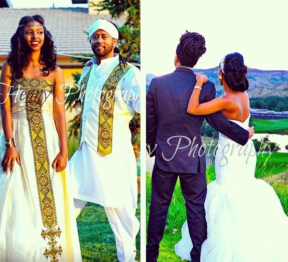 2 looks 1 love love our habesha culture how beautiful is this ethiopian