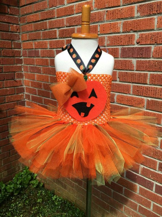 Pumpkin costume - Newborn costume - baby pumpkin tutu - Pumpkin Dress - infant pumpkin dress- pumpkin Halloween costume - pumpkin tutu