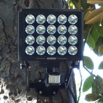 Introducing the STARTLE LED motion activated security light. The brightest and most intimidating outdoor security light manufactured - a powerful way to STARTLE and ward off even the most determined of burglars. STARTLE LED bulbs last approximately 25 yea