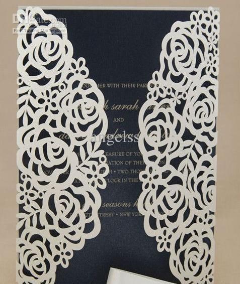 117 Best Laser Cut Wedding Invites Images On Pinterest