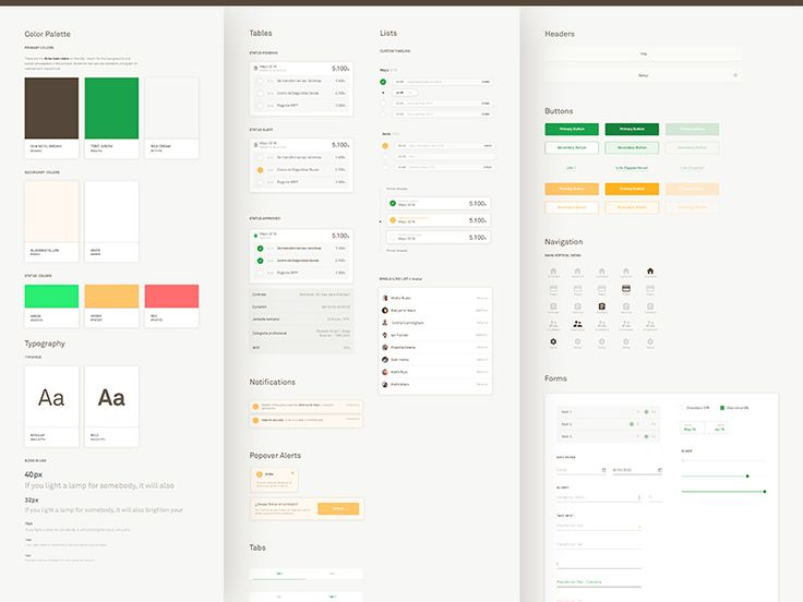 Rollbox Style Guide by Danny Saltaren