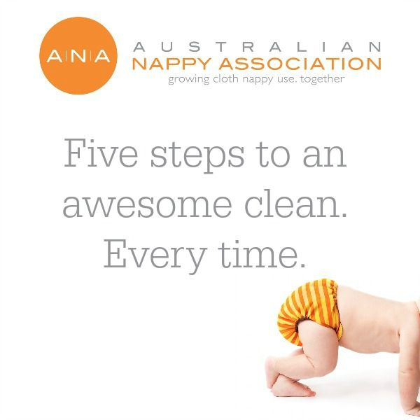 5 steps to clean cloth nappies ... every time!